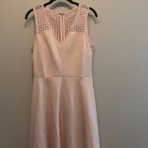 Pink JustFab Skater Dress